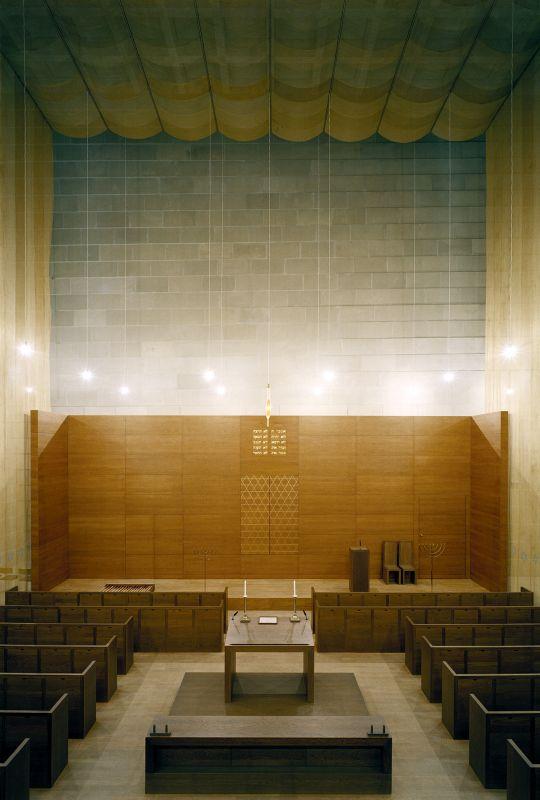 Neue Synagoge Dresden Innenraum Gebetsraum